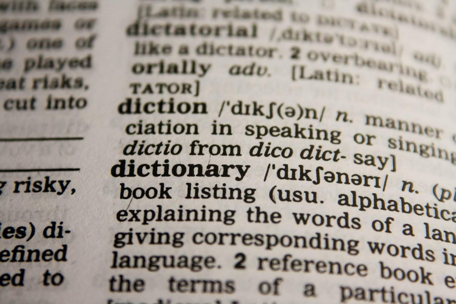 Les meilleurs dictionnaires d'argot anglais (américain ou britannique)