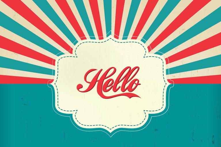 [Illustration] Comment dire bonjour en anglais