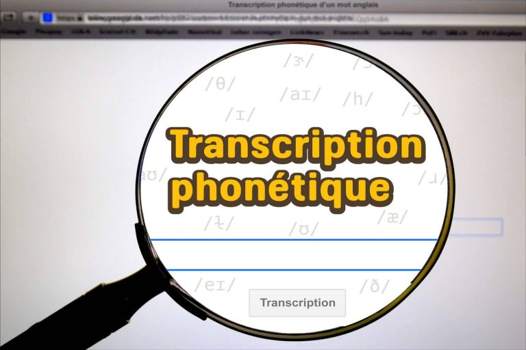 Comment trouver la transcription phonétique d'un mot anglais ?