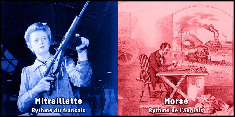 Rythme accent français versus Rythme accent anglais