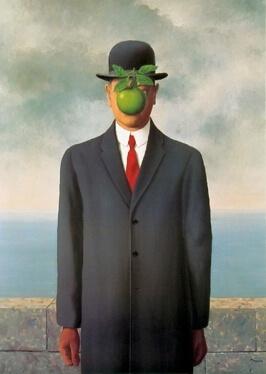 René Magritte, Le fils de l'homme (1964)