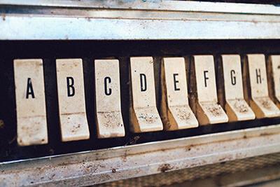Apprendre l'alphabet anglais