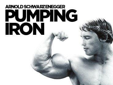 Arnold Schwarzenegger et le docu *Pumping Iron*