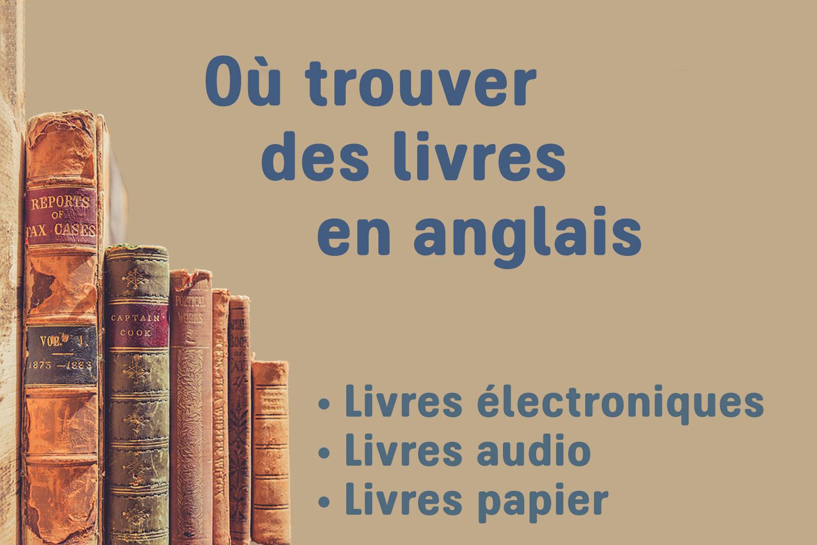 o trouver des livres en anglais ebooks livres audio livres papier. Black Bedroom Furniture Sets. Home Design Ideas