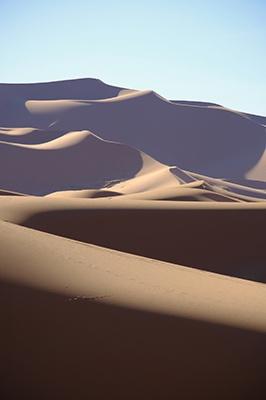 L'accent tonique illustré par une phrase sur le désert