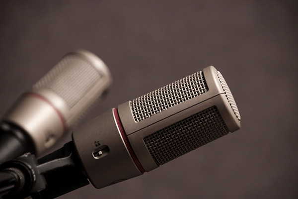 Illustration pour l'accent tonique (microphone)