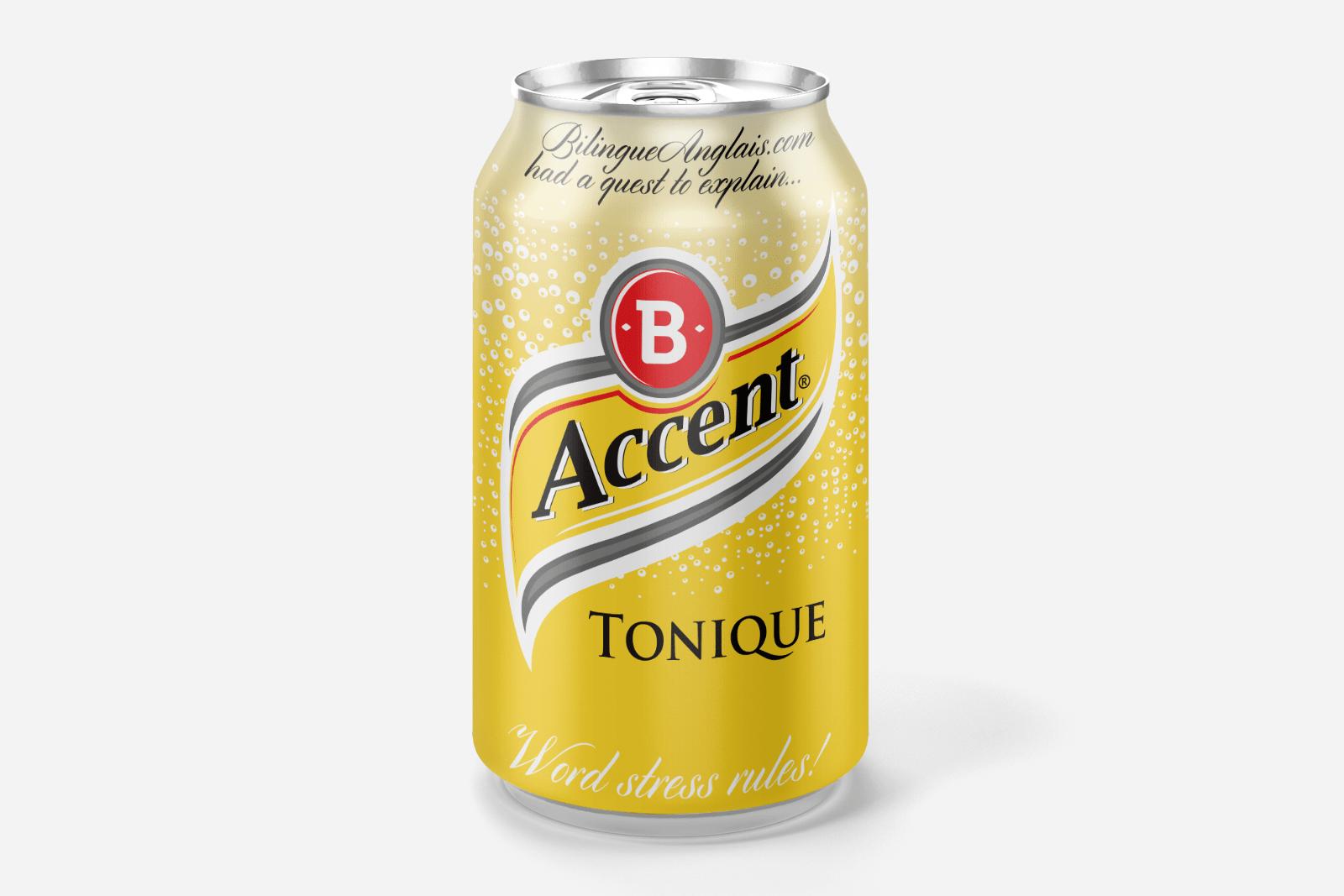 Les règles de l'accent tonique en anglais