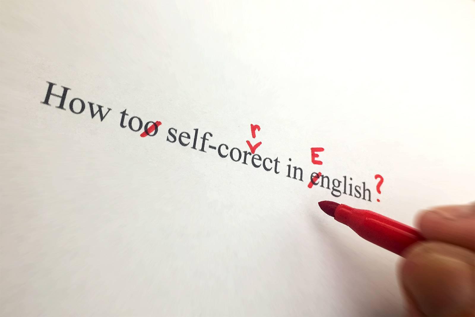 Comment corriger un texte en anglais ?