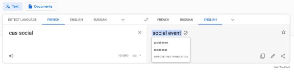 Comment traduire ? (de l'anglais vers le français et vice-versa)