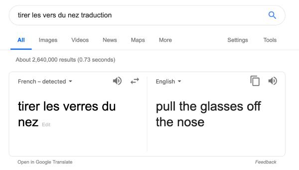 Comment traduire ? (de l'anglais vers le français)