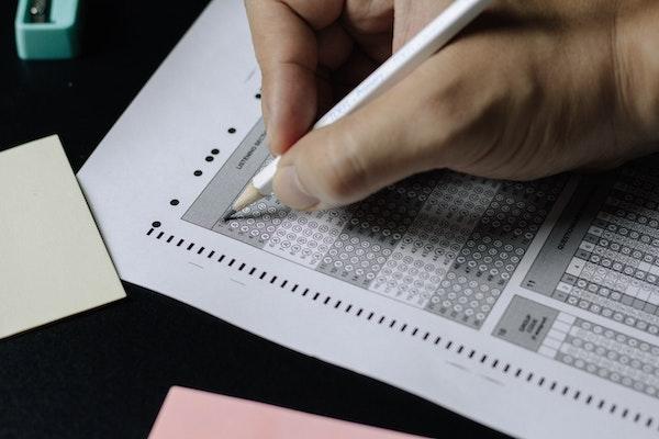 Le crayon de papier sera de rigueur pour remplir votre feuille de réponses
